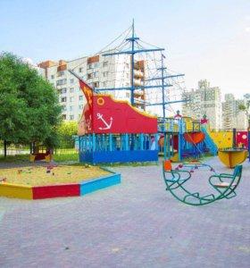Детская игровая площадка ,батут