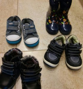 Ботинки детские24размер