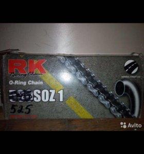Установочный комплект цепь RK525 SOZ1