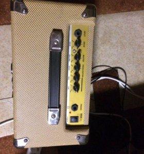 Продам электро гитару и комбик
