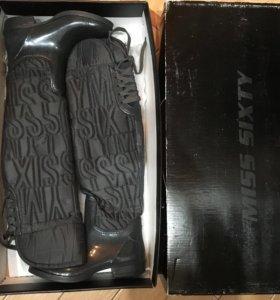Резиновые сапоги ботфорты