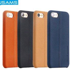 Чехол USAMS™ JOE series iPhone 7 (кожа)