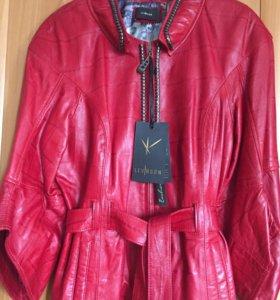 Куртка. Кожа. Новая!