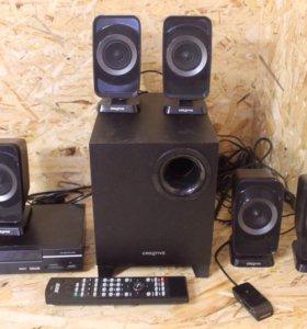 Домашний кинотеатр bbk аудиосистема creative 5.1