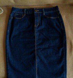 Новая джинсовая юбка Modis XS/42