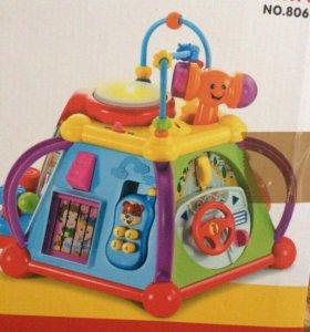 Развивающая игрушка куб музыкальный