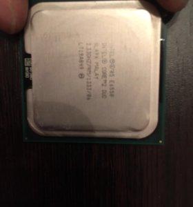 Intel core 2 duo 6550 775 socket + охлаждение