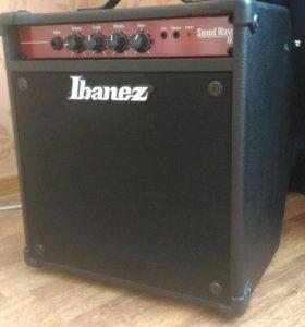 Комбоусилитель бас-гитарный IBANEZ SW15 SOUNDWAVE