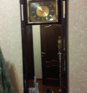 Интерьерное Зеркало с часами