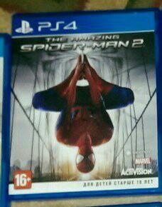 Игры THE AMAZING SPIDER-MAN 2 на PS4