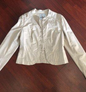 Куртка-пиджак кож.зам