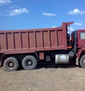 Доставка сыпучих грузов самосвалами от 5тн до 35т)