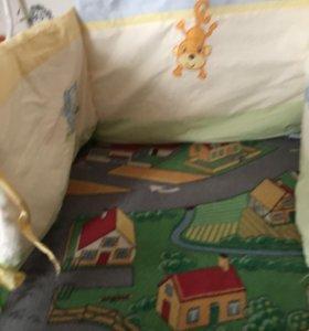 Борт для детской кровати