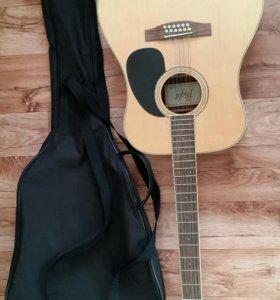 12-ти струнная Акустическая гитара Flight w-12701