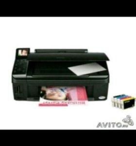 Принтер/копир/сканер Epson stylus TX 419