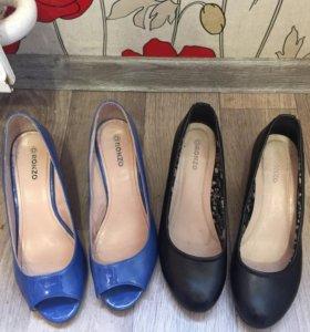 Две пары туфель(босоножки)
