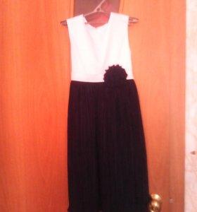 Парадное школьное платье