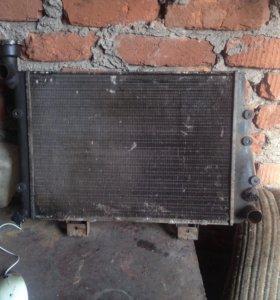 Радиатор охлаждения на Классику