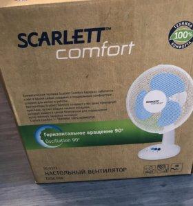 Настольный вентилятор Scarlet
