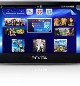 Портативная игровая приставка PS VITA SONY