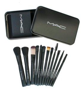 Набор кистей MAC для макияжа 12шт.