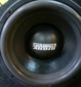 Сабвуфер sundown audio