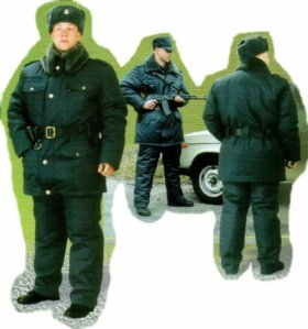 Форменная одежда сотрудника МВД