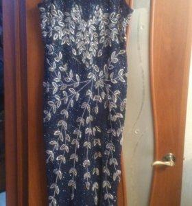 Вечернее платье и балеро