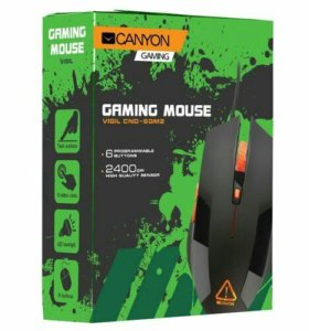 Мышь Canyon CND-SGM2 Black USB