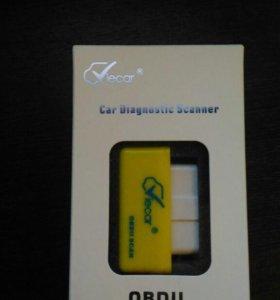 Диагностический сканер Viecar ELM-327 Bluetooth V1