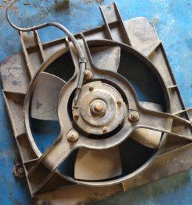 Вентилятор ваз 2110-12