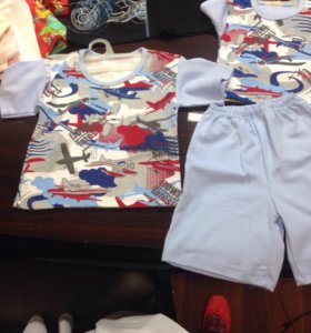 Пижама на мальчика 100 рост