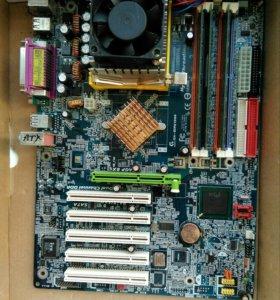 Процессор intel pentium 4 2.4ГГц. Socket 478