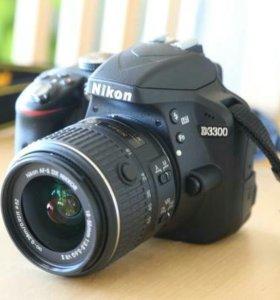 Новый Nikon D3300 .