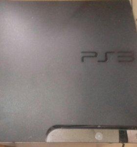 """Sony PlayStation 3 """"прошита"""" 2 джойстика."""