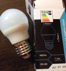 Светодиодная лампа шар Е27 5W