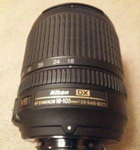 Объектив Nikon 18-105 DX VR