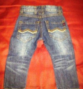 Новые джинсы,размер 6м