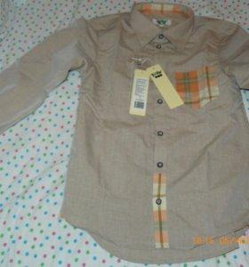 Рубашка для мальчика новая