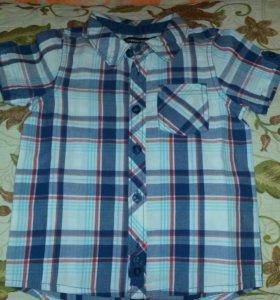 Рубашка новая 86-92