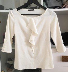 Блуза цвета шампать XS