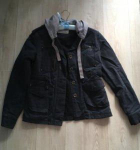 Джинсовый пиджак -куртка
