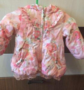 Курточка для маленькой принцессы.
