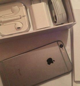 iPhone 6 на 16г цвет спейс грей.