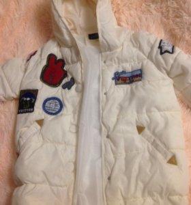 Весенняя куртка-пальто