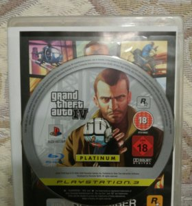 Игра GTA 4 на PlayStation 3 (PS3)