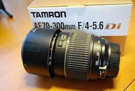 Объектив tamron af 70-300  Nikon.
