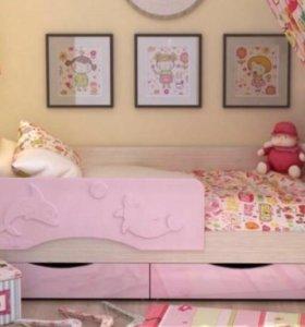 Кровать детская Бэмби новая