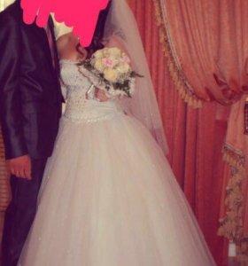 Свадебное платье ( прокат, продажа)