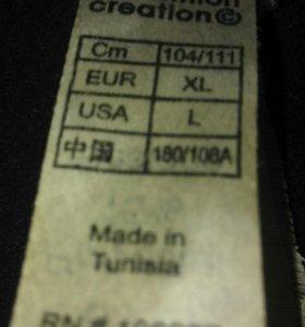 Кофта черная спортивная quechua XL softshell